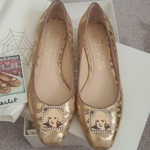 Charlotte Olympia Starlet Hollywood star flats